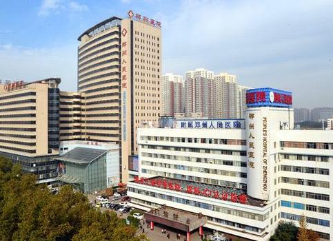 河南郑州某医院客户来我厂考察超声骨密度检测仪设备